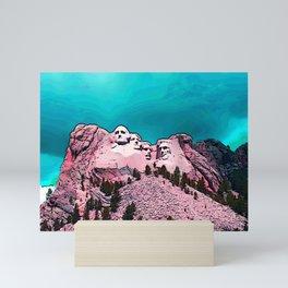Mt. Rushmore Mini Art Print