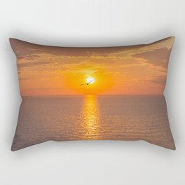 Sunset at the Baltic sea Rectangular Pillow
