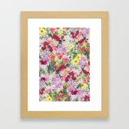 Grand Flora Framed Art Print