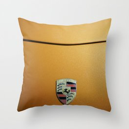German sports car orange Throw Pillow