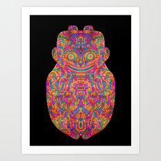 Self Transforming Spirit Guide Art Print