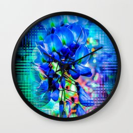 Flower - Imagination Wall Clock
