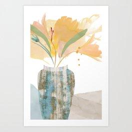FLO-480 Sunshine in a Vase  Art Print
