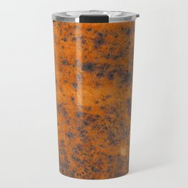 Vintage metall rust texture - Orange / red pattern Travel Mug