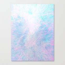 Snow Motion Canvas Print
