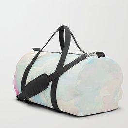 Watercolor abstract many colors  no.08 Duffle Bag