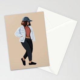 Fashion Jacket Stationery Cards