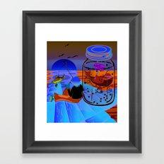 Fish Tales Framed Art Print