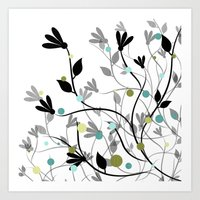 Blissful Breeze Art Print