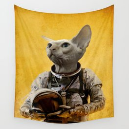 Proud astronaut Wall Tapestry