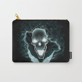 Black skeleton in the dark Carry-All Pouch