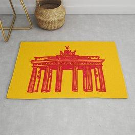 Brandenburg Gate in Berlin Rug