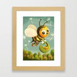 Beezy Bee Framed Art Print