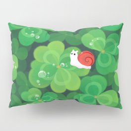 Happy lucky snail Kissenbezug