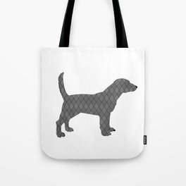 Black beagle Tote Bag