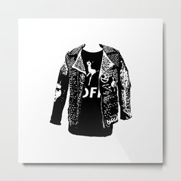 Danse Farm Radio Logo Metal Print