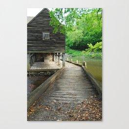 Philipsburg Manor, Water Mill ,Sleepy Hollow NY Canvas Print
