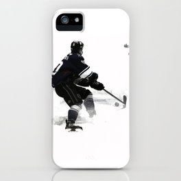 The Deke - Hockey Player iPhone Case