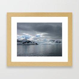 Slow Trog to the Sea Framed Art Print