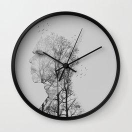 Tree Man Wall Clock