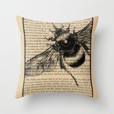 Pride & Prejudice, Page 51: Bumble Bee Throw Pillow