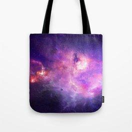 Purple space Tote Bag