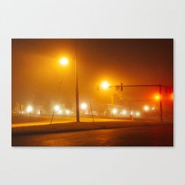 Midnight Walk Canvas Print