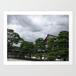 Nijo Castle Kyoto Art Print