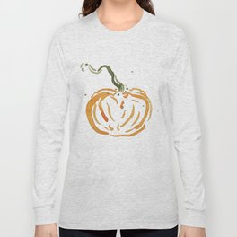 Abstracted Pumpkin Long Sleeve T-shirt