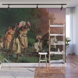 African American Masterpiece 'Emancipation or On to Liberty' by Theodor Kaufmann Wall Mural