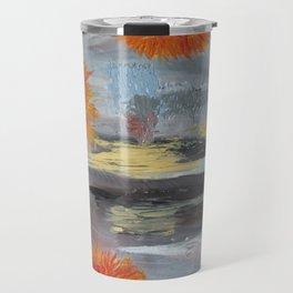 Winter blooms Travel Mug