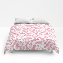 Pink Candies Pattern Comforters