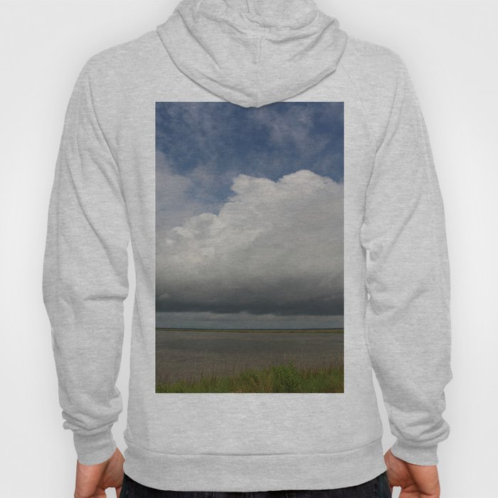 Clouds Over The Marsh Hoody