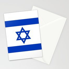 Flag of the State of Israel - High Quality Image Stationery Cards