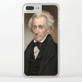 President Andrew Jackson Clear iPhone Case