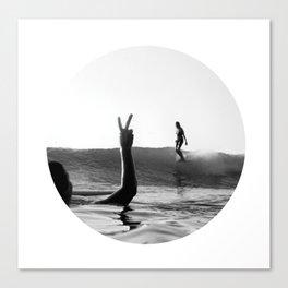 Surfing Days Canvas Print