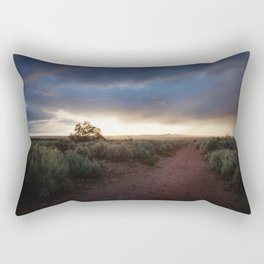 New Mexico Sunset Rectangular Pillow