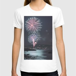 Rockport Firework at Old Garden Beach T-shirt