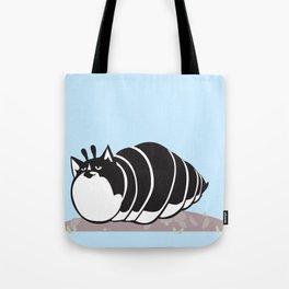 Kittypillar Tote Bag