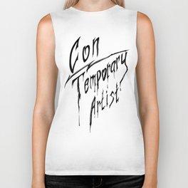 Con|Temporary Artist Biker Tank