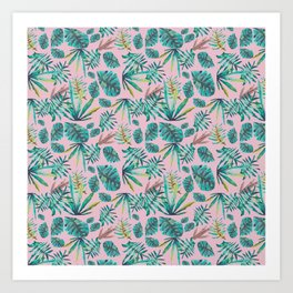 Jungle Oh! Art Print