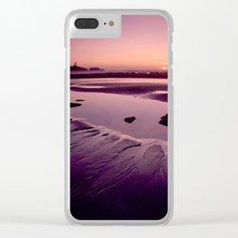Star fish cove sunset 2aV Clear iPhone Case