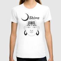shiva T-shirts featuring SHIVA by Michael J. Chavez