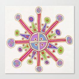 Happy Cross Canvas Print