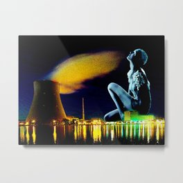 Meltdown Metal Print