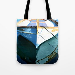 St Tropez Port Fishing Boat Tote Bag