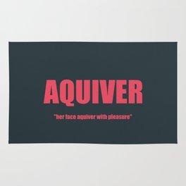 AQUIVER Rug