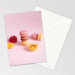 French Pastel Macaron Art Stationery Cards