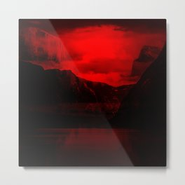 Blood Mountain Metal Print