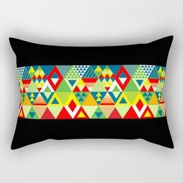 Aztec Print Rectangular Pillow